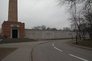 Lokasi menuju museum Radegast